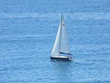 Free Sailboat, Sail, Water Transportation, Sailing Stock Photos - 118242773