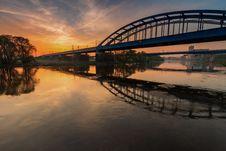 Free Reflection, Bridge, Sky, Waterway Stock Image - 118242941