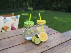 Free Mason Jar, Drinkware, Lemonade, Drink Royalty Free Stock Image - 118243016