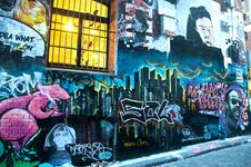 Free Photography Of Graffiti On Brickwall Royalty Free Stock Photography - 118290657