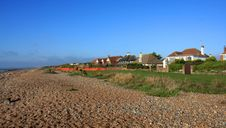Free Seaside Beach Houses Stock Photography - 11830622