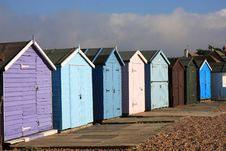 Free Beach Huts Royalty Free Stock Photography - 11830747