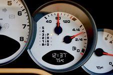 Free Gauge, Tachometer, Measuring Instrument, Speedometer Royalty Free Stock Photography - 118324977