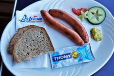 Free Bockwurst, Bratwurst, Sausage, Lunch Royalty Free Stock Photography - 118325307