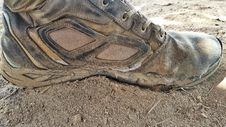 Free Footwear, Shoe, Soil, Outdoor Shoe Royalty Free Stock Photography - 118325877
