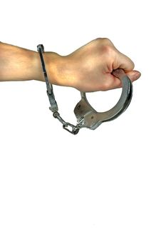 Free Free Yourself From Handcuffs Royalty Free Stock Photo - 11845065
