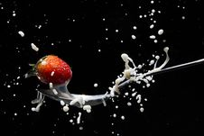 Free Close-Up Photography Of Strawberry On Spoon Royalty Free Stock Photography - 118464497