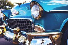 Free Blue Chevrolet Bel Air Stock Photos - 118464563
