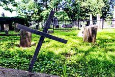 Free Gray Graveyard Stock Image - 118598861