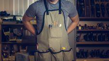 Free Photo Of Man Wearing Gray Shirt And Apron Stock Photos - 118598943