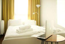 Free Bed, Bedroom, Comfort Stock Photos - 118660503
