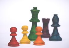 Free Challenge, Chess, Close-up Royalty Free Stock Image - 118758496