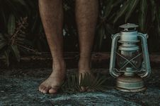 Free Feet, Hairy, Kerosene Royalty Free Stock Image - 118758546