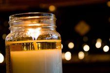 Free Mason Jar, Lighting, Candle, Bottle Stock Photography - 118778792