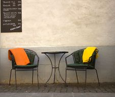 Free Furniture, Yellow, Chair, Wall Stock Photos - 118778913
