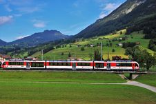 Free Transport, Track, Mountain Range, Train Royalty Free Stock Image - 118779006