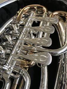 Free Musical Instrument, Brass Instrument, Wind Instrument, Euphonium Royalty Free Stock Image - 118871376