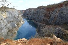Free Water Resources, Quarry, Geological Phenomenon, Escarpment Royalty Free Stock Image - 118872216