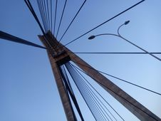 Free Sky, Cable Stayed Bridge, Wire, Bridge Stock Image - 118872561