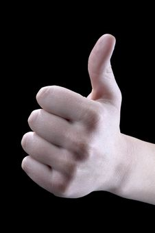 Free Gestures, Thumb Up, Very Good Royalty Free Stock Photos - 11898838