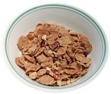 Free Mutli-grain Cereal In A Bowl Stock Photography - 11898842