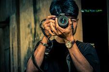 Free Camera, Fashion, Guy Stock Photos - 118920663