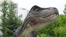 Free Dinosaur, Velociraptor, Tyrannosaurus, Tree Royalty Free Stock Photos - 118940878