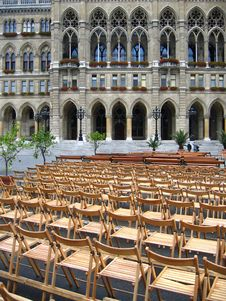Free Open-air Concert In Vienna, Austria Stock Photo - 1190350