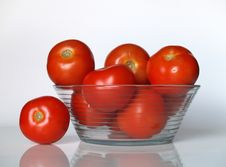 Free Tomatoes In A Bowl Stock Photography - 1190352