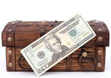 Free Money Chest Royalty Free Stock Image - 1192986