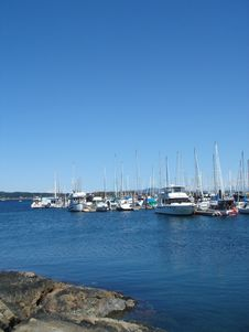 Free Canadian Marina Royalty Free Stock Photo - 1193265