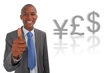 Yes Currency (Pound) Stock Image