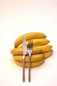 Free Bananas For Dessert Royalty Free Stock Photography - 1194157