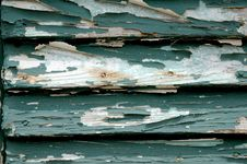 Free Green Crackled Door Stock Photos - 1194653