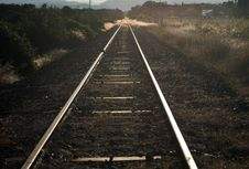 Free Railway Track Royalty Free Stock Photo - 1195015