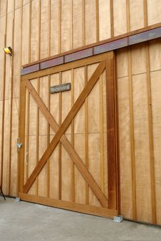 Free Barn Door Royalty Free Stock Photography - 1195077