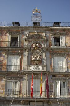 Free Major Square, Madrid Royalty Free Stock Image - 1195356