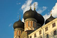 Free Izmailovo Church Domes Royalty Free Stock Photos - 1195718