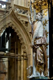 Free Jesus Statue Stock Image - 1196261