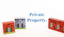 Free Private Property Stock Photography - 1196502