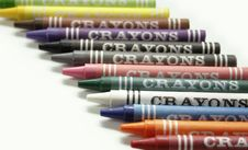 Free Crayons Royalty Free Stock Images - 1197259