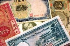 Free Old Chinese Currency. Stock Images - 1197364