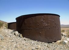 Free Rusty Storage Drums Stock Photo - 1198280
