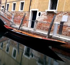 Free Venice - Canal Series Royalty Free Stock Photo - 1198715