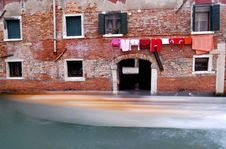 Free Venice - Canal Series Royalty Free Stock Image - 1198796