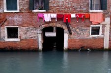 Free Venice - Canal Series Royalty Free Stock Photography - 1198817
