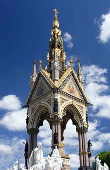 Free The Prince Albert Memorial In Hyde Park, London. Stock Images - 1198994