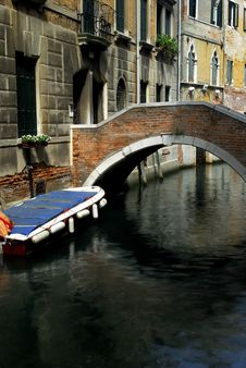 Free Venice - Canal Series Royalty Free Stock Photo - 1199045