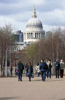 Free St Pauls Cathedral Royalty Free Stock Photography - 1199367