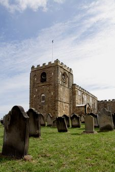 Free St Marys Church Whitby Royalty Free Stock Photos - 1199498